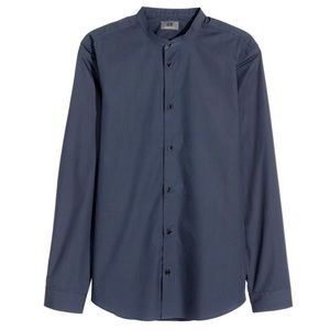 Premium Cotton Men's Long-sleeved shirt H&M